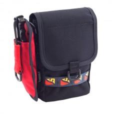 Bellows Vertical Velcro Pocket w/Daisy Chain